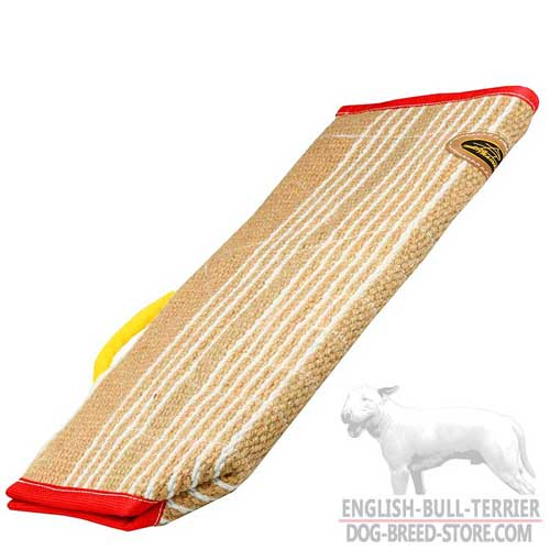 Jute Bull Terrier Bite Sleeve Cover for More Effective Training