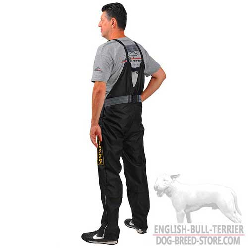 Nylon Protection Scratch Pants for Bull Terrier Schutzhund Training