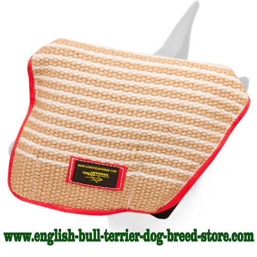 English Bull Terrier dog-safe materials young dog bite builder sleeve