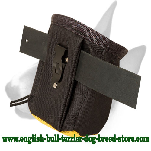 Water-proof English Bull Terrier training treat pouch