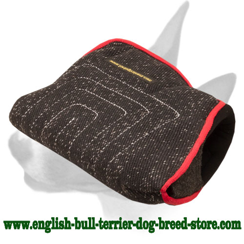 New young dog bite builder sleeve for training English Bull Terrier