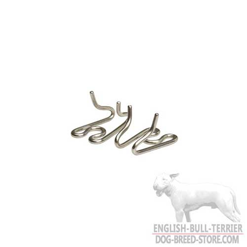 English Bull Terrier HS Links for Pinch Collar