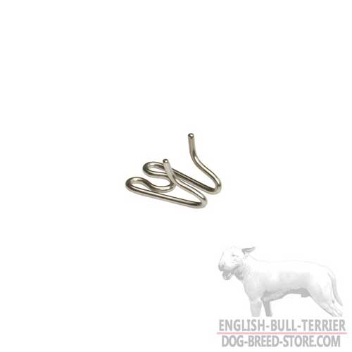 Metal Extra Links for English Bull Terrier Pinch Collar
