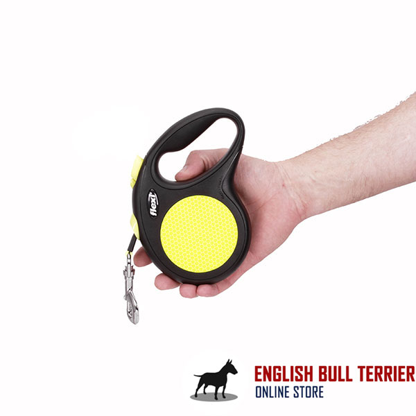 Daily Walking Retractable Leash Neon Style for Total Comfort