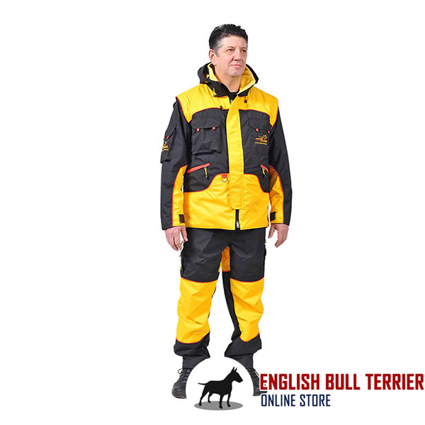 Pro Training Bite Suit of Weatherproof Membrane Material