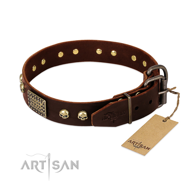 Reliable hardware on daily use dog collar