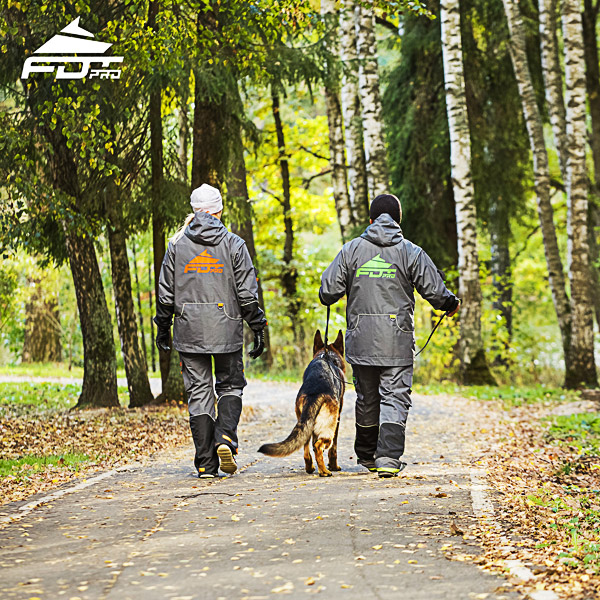 FDT Professional Dog Training Jacket of Best Quality for Any Weather Use