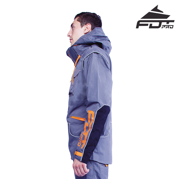 FDT Pro Dog Trainer Jacket of High Quality for Any Weather