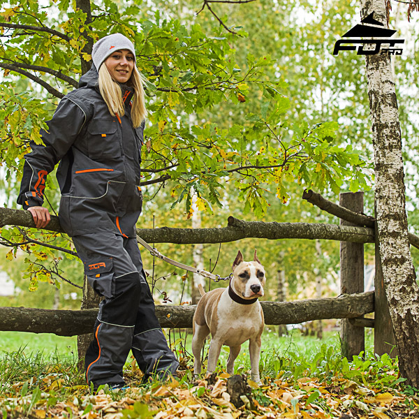 Unisex Design Pants with Convenient Side Pockets for Active Dog Trainers
