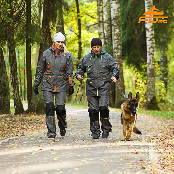Any Weather Conditions Reliable Dog Tracking Suit for Men and Women