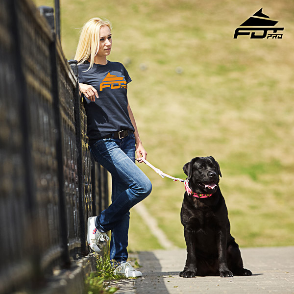 Women T-shirt of Best Quality Cotton for Dog Training