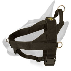 Reliable Nylon Bull Terrier Harness for Working Dogs